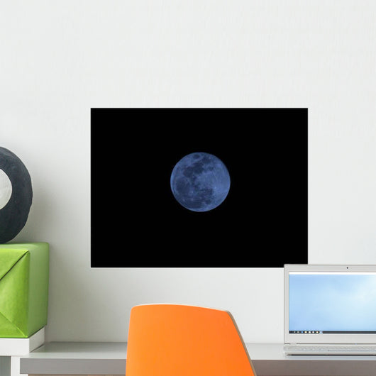 Full Moon Wall Decal