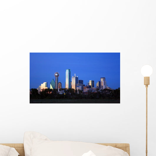 Downtown Dallas Texas Wall Decal