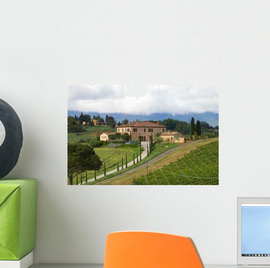 Tuscany Landscape Wall Decal