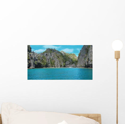 Turquoise Lagoon Philippines Wall Decal