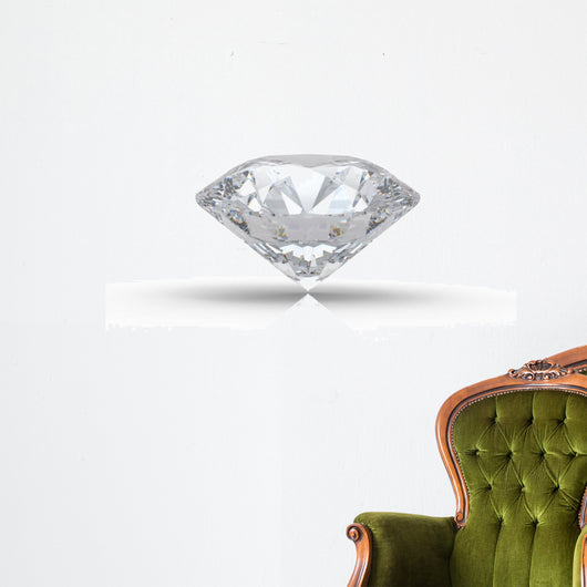 Diamond with Reflection Wall Decal