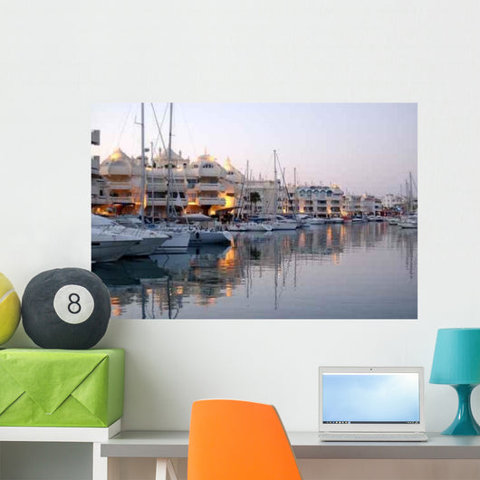 Port Benalmadena Wall Decal