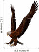 Eagle Attack Wall Decal