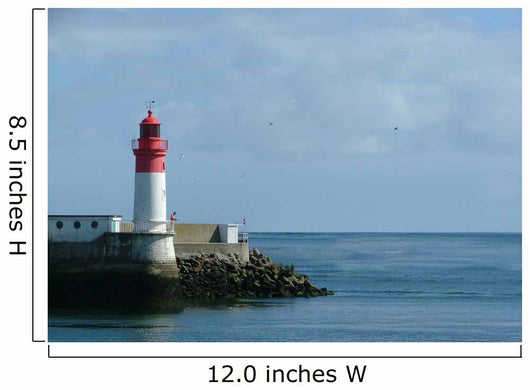 Lighthouse Breton Wall Mural
