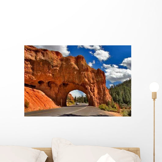 Mountain Gate Wall Decal