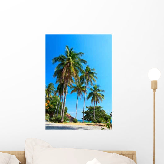 Exotic Paradise Wall Decal