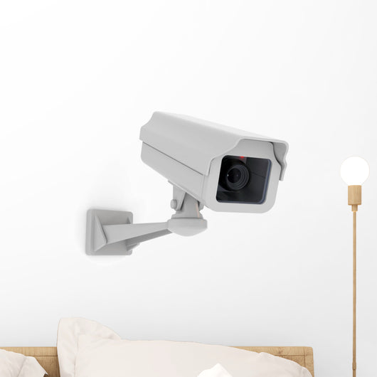 security camera Wall Decal