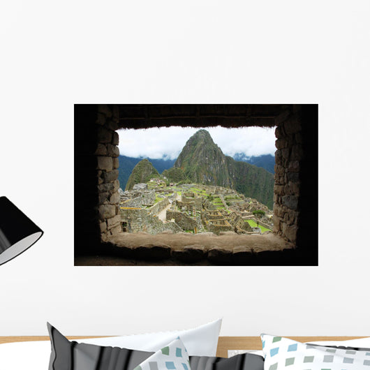 Machu Picchu Through the Inca Window Peru Wall Mural