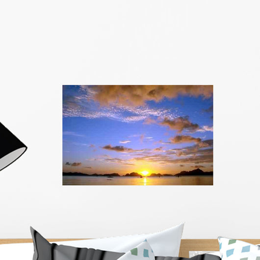 Sunset Philippines Wall Decal Design 1