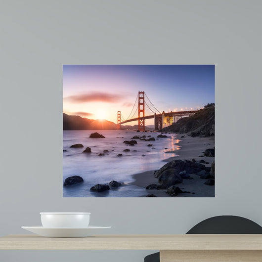 Golden Gate Bridge San Wall Decal