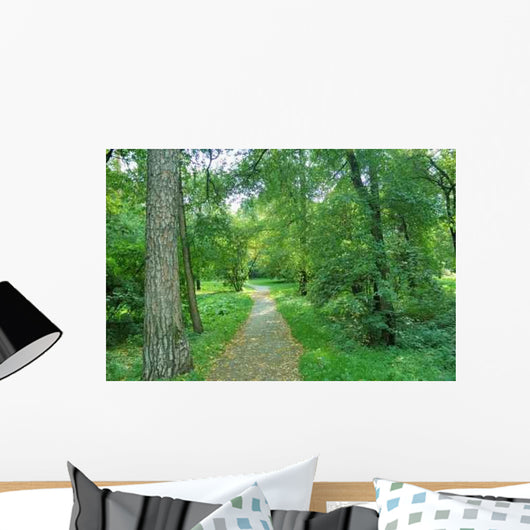 Walking Forest Wall Decal