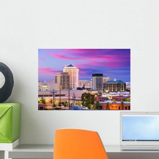 Montgomery Alabama Skyline Wall Decal