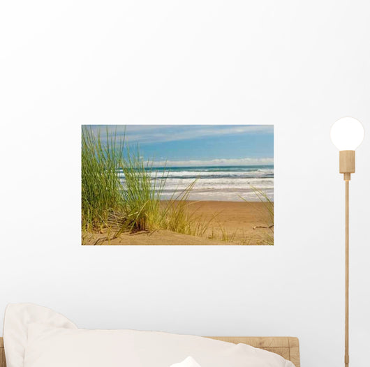 Sand Dunes and Reeds Wall Decal