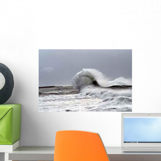 Wave Surf Wall Decal
