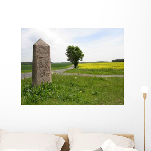 Kilometer Brandenburg Wall Decal