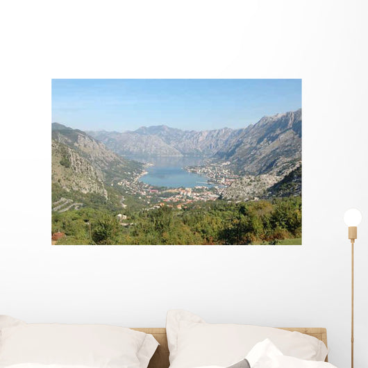 Kotor Bay Montenegro Wall Decal