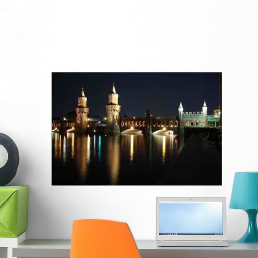 Berlin Oberbaum 297 Wall Decal