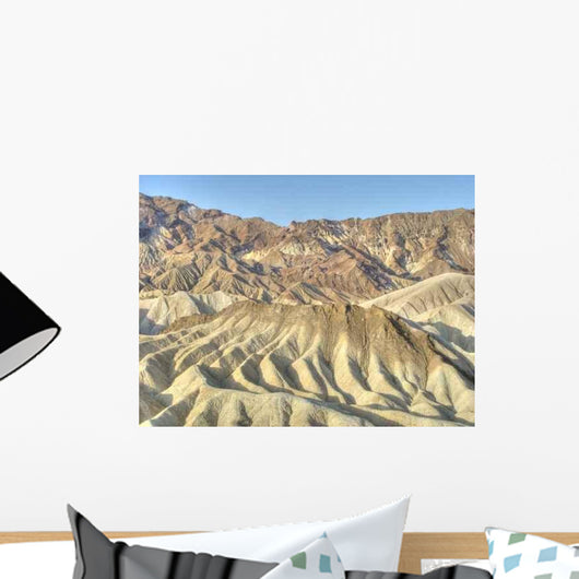 Zabriskie Point Wall Decal