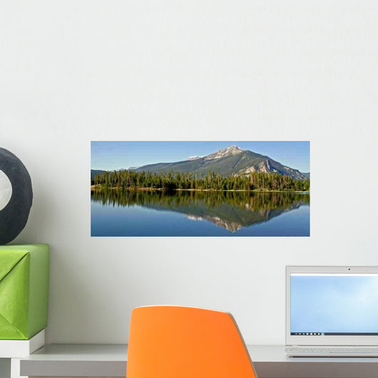 Peak One Reflections Wall Decal