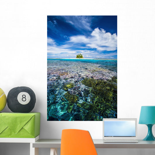 Island Forms Part Marine Wall Mural