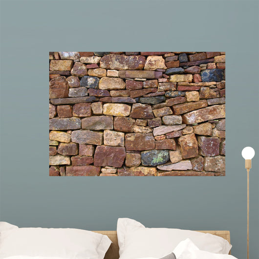 Old brick wall Wall Mural