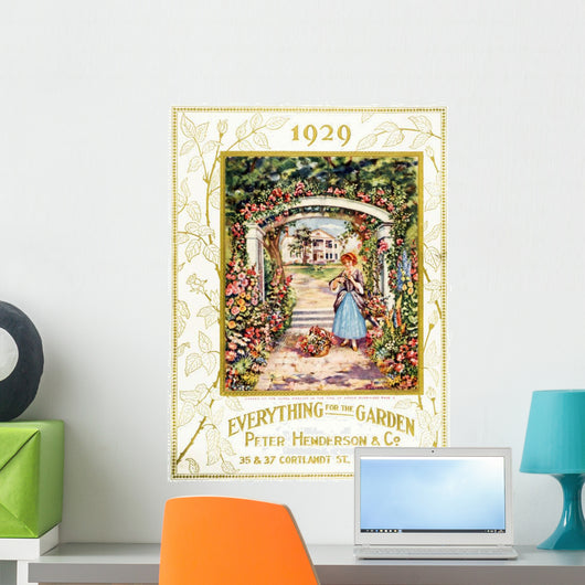 Peter Henderson & Co garden supple catalog from 20th century Wall Mural