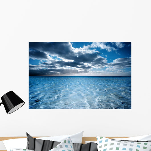 Dreamy Beach Scene Wall Mural