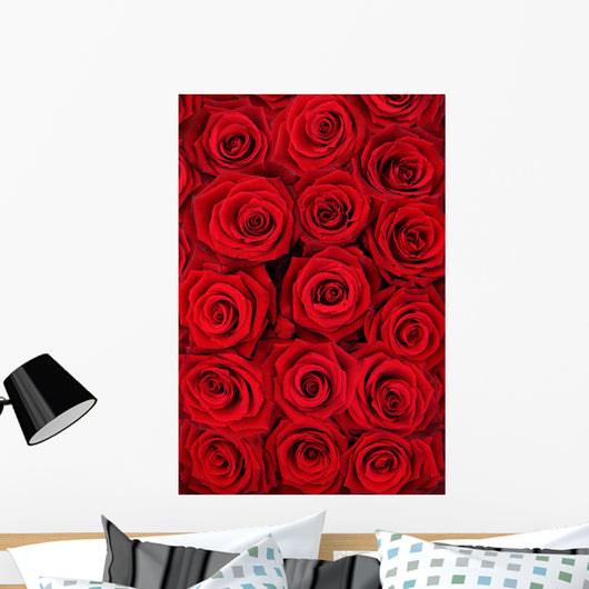 Red Roses Wall Mural
