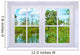 Window to Nature Wall Mural