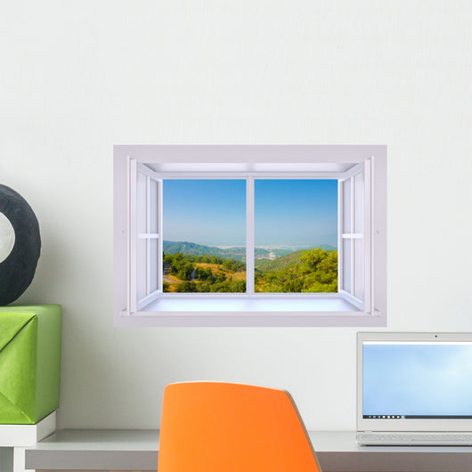 Window to Nature Wall Decal