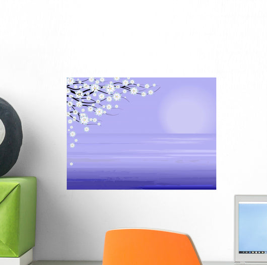Sea in Spring Wall Mural