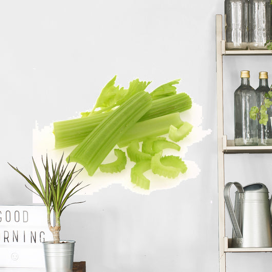 Fresh celery / cut-up celery new Wall Decal