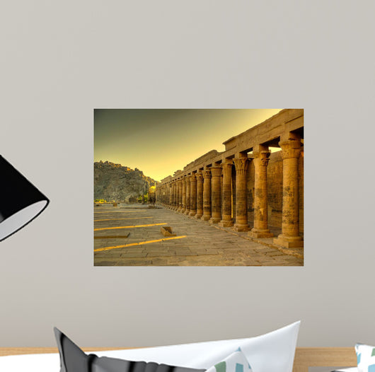 Philae Temple Wall Decal