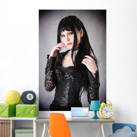 Gothic Girl Wall Decal