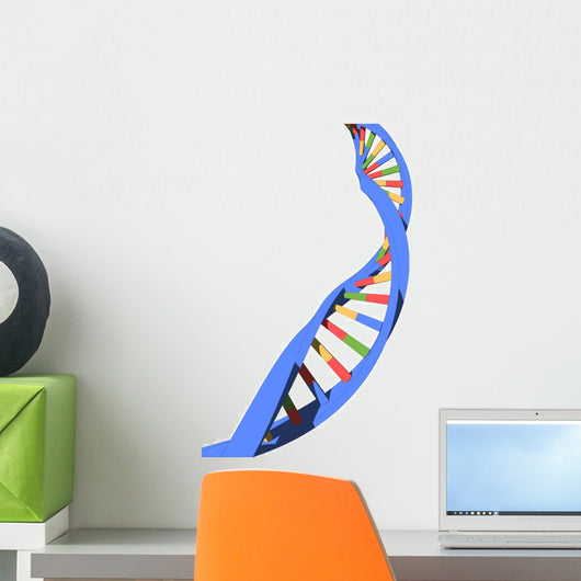dna strand Wall Decal