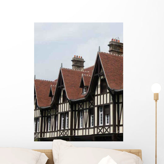Timbered Houses Champagne-ardennes Wall Decal