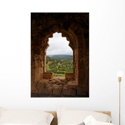 Green Hills Castle Wall Decal