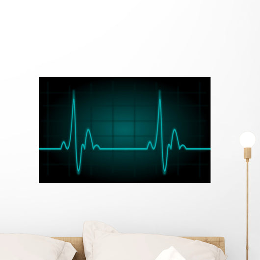 Heartbeat Wall Decal