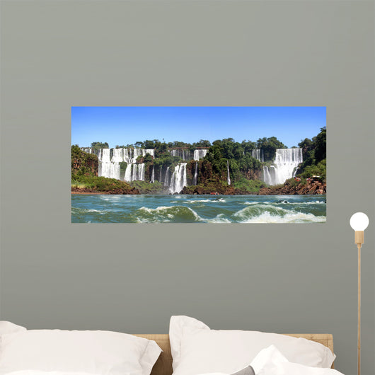 Waterfall Wall Decal Panoramic Wall Decal