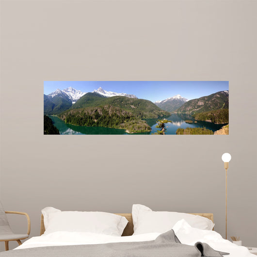 North Cascades and Diablo Wall Decal