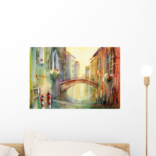 Venice Wall Decal Design 1