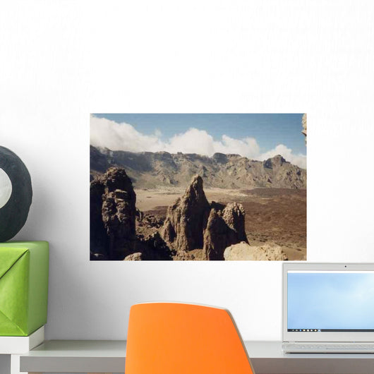 Volcanic Mountains El Teide Wall Decal