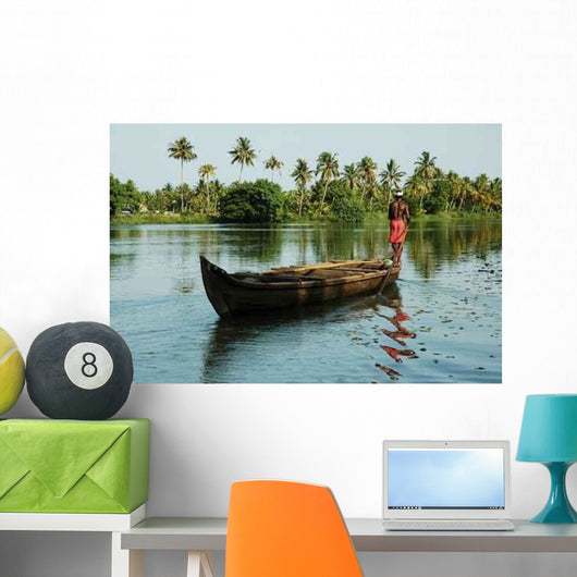 India Wall Decal Design 1