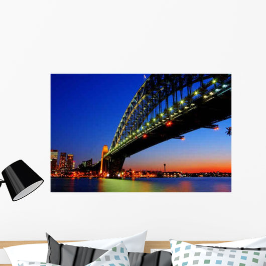 Sydney Harbor Bridge Wall Decal Design 2