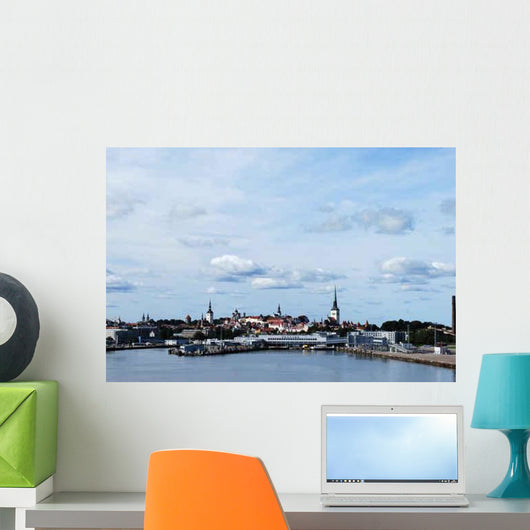 Tallinn Panorama Wall Decal