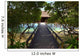 Pathway to Water Bungalow Wall Mural