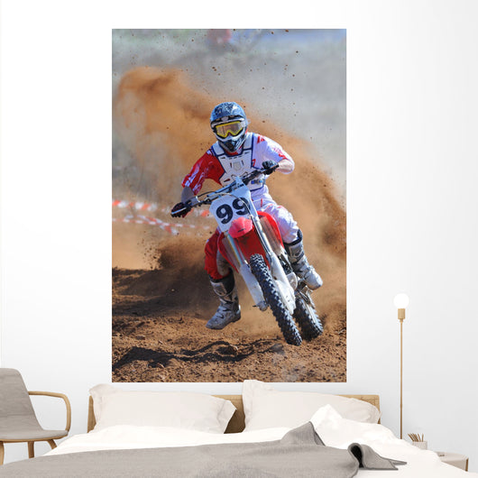 Motocross 99 Wall Decal