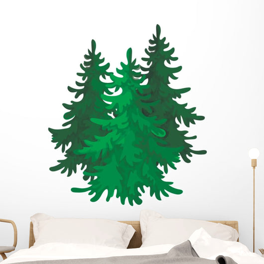 Canadian Spruce Canada Single Wall Mural