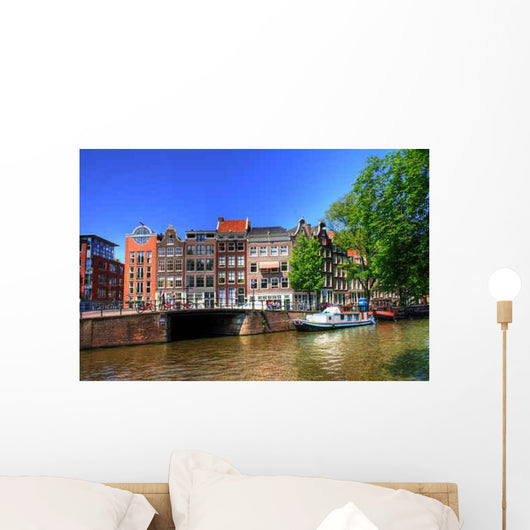 Amsterdam Niederlande Holland Wall Decal Design 1