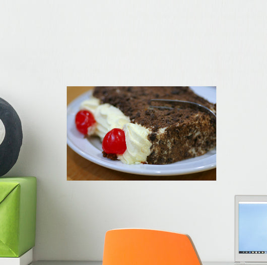 Black Forest Cake Wall Decal